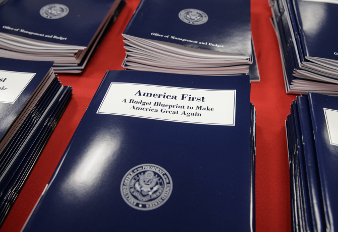 President Trump proposed budget