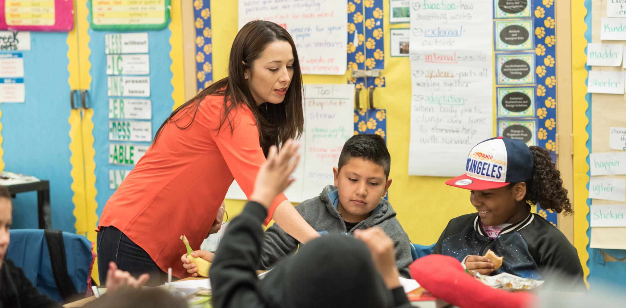 Los Angeles teacher