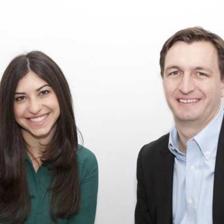 Sydney Morris and Evan Stone